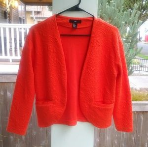 EUC Textured Birght Orange Jacket
